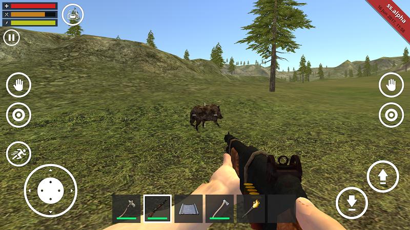 Скачать игру симулятор выживание в лесу