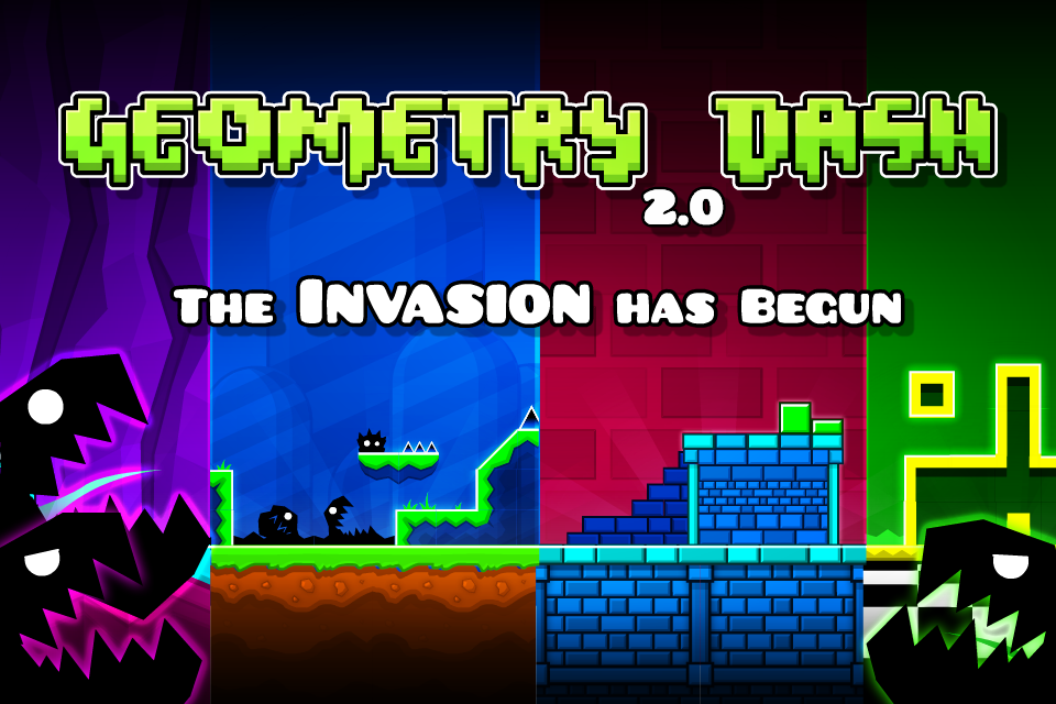 Download Geometry Dash 2.111 APK for android