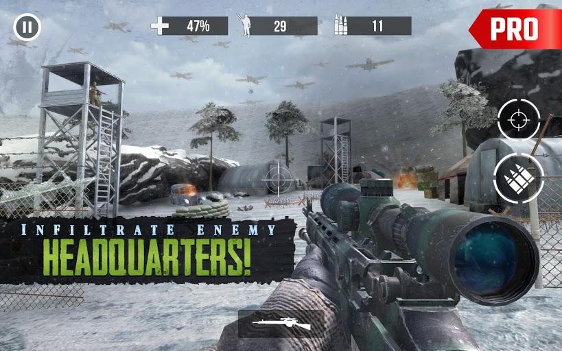 world war 2 sniper games